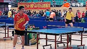 史克VS张智勇 2014黑龙江业余赛 男单小组赛视频