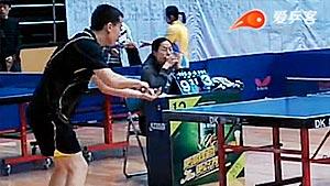 姜克英VS李源 2014黑龙江业余赛 男单小组赛视频