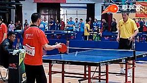史克VS刘维国 黑龙江业余选手大赛男单小组赛视频