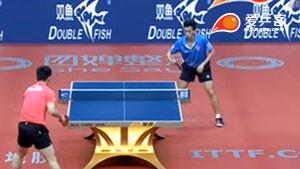 樊振东VS黄镇廷 2016中国公开赛 男单半决赛视频