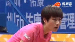 丁宁VS陈梦 2016中国公开赛 女单半决赛视频