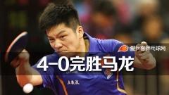 樊振东4-0完胜奥运冠军马龙 夺中乒赛男单冠军