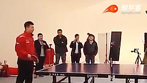 国乒花式乒乓球,看张继科马龙这样玩