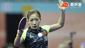 刘诗雯VS武杨 2013女子世界杯赛 女单决赛视频