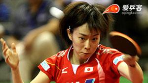 石川佳纯VS侯美玲 2016瑞典公开赛 女单决赛视频