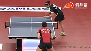 侯美玲VS田志希 2016瑞典公开赛 女单1/4决赛视频