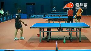 挑战乒乓球发球速度极限(慢动作)