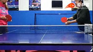 乒乓发球练习