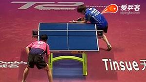 郑荣植VS庄智渊 2016年终总决赛 男单1/4决赛视频