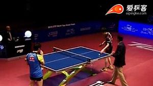 郑荣植VS水谷隼 2016年终总决赛 男单1/8决赛视频