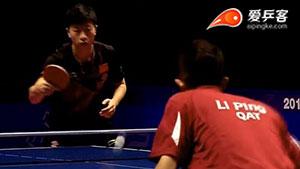 马龙VS李平 2016年终总决赛 男单1/8决赛视频