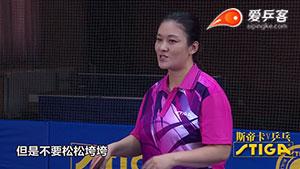 刘伟教你:击球前放松与集中发力应该做到形散意不散