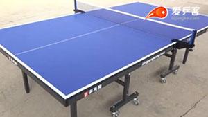 大云台乒乓球台试打测试