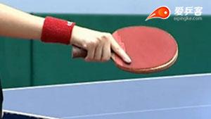 乒乓球直拍握法与横拍握法