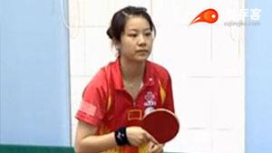 乒乓球基本站位与基本姿势
