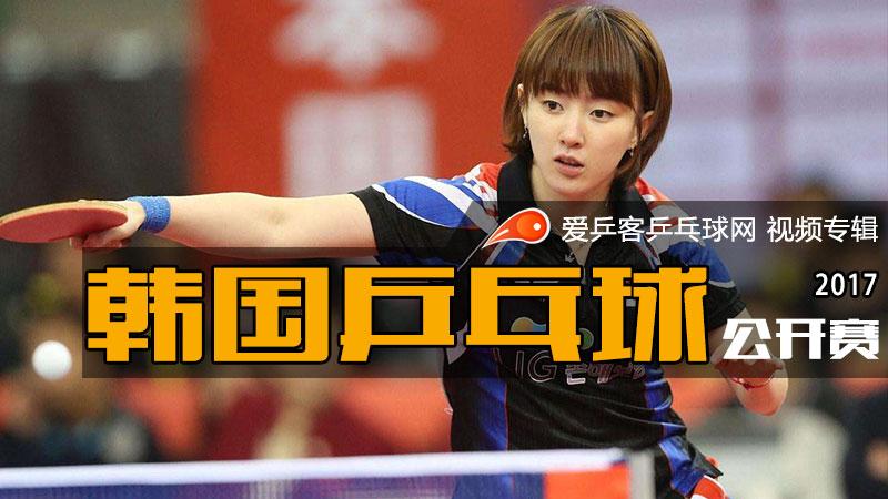 2017年韩国乒乓球公开赛
