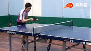 乒乓球搓球技术教学和应用