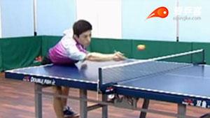 乒乓球摆短技术教学与应用