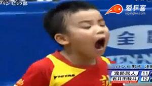 前方高能!日本小学生乒乓球比赛竟如此热血,令人汗颜!
