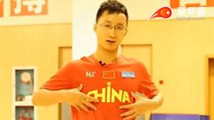 乒乓球热身运动:肌肉激活的练习