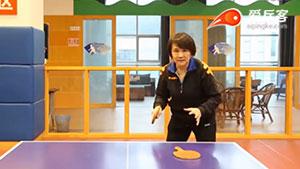 打乒乓球时的基本准备姿势