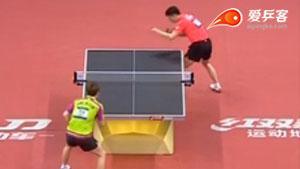 马龙VS张宇镇 2017亚洲乒乓球锦标赛 男团决赛视频