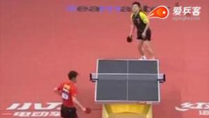 樊振东VS张继科 2017亚洲乒乓球锦标赛 男单半决赛视频