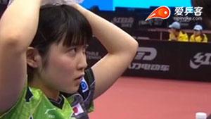 平野美宇VS陈梦 2017亚洲乒乓球锦标赛 女单决赛视频