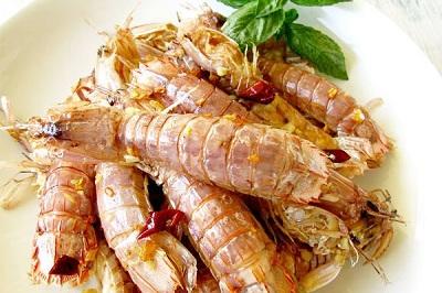 皮皮虾的吃法——椒盐皮皮虾