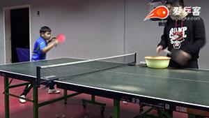 乒乓生活教学视频 - 高手教你正反手转换