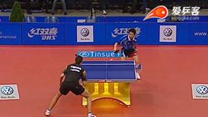 乒乓赛场上的微笑刺客,朱世赫的削中反攻大招