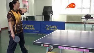 基础的乒乓步法,学会真的只用一分钟!