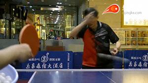 【正胶教程】【第2集】球王张学友 正手突击提拉小弧圈
