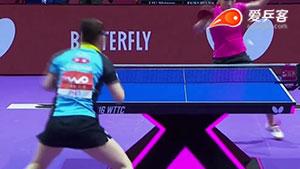 如何变化之6刘诗雯推直线2016团体世乒赛决赛中日