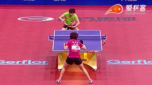如何变化之9李晓霞反冲斜线2011世乒赛决赛