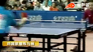 中国的乒乓有多恐怖? 训练输者罚5000, 赢者得一万