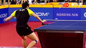 如何直拍横打之8许昕直拍横打全台拧2016韩国赛决赛