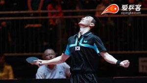 李尚洙vs黄镇廷 2017世界乒乓球锦标赛男单 1/4决赛视频