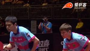 方博/索尔佳vs庄智渊/陈思羽 2017世界乒乓球锦标赛混双 淘汰赛视频