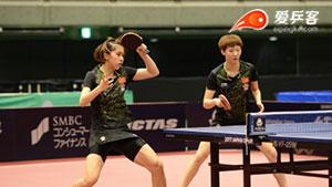 日乒赛 | 中国女将3:0狂虐归化球员!