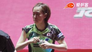 日乒赛 | 日乒一姐秒现原型!中国小将4:1打碎日本冠军梦