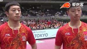 国乒老炮遇上新双子星,果然姜还是老的辣!