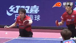 日乒主场闹内讧!谁才是日本男乒的绝佳搭档?