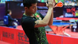 中乒赛 | 张继科疑似腰伤复发,退出单打比赛