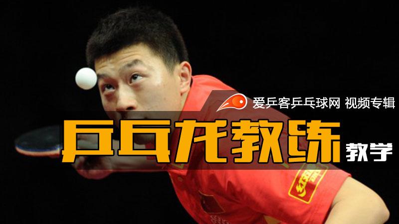 乒乓龙教练技术教学
