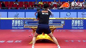 学习像国乒队长马龙一样的正手练球动作