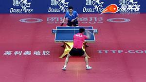 未来男乒大魔王樊振东的正手弧圈球动作你想学么?