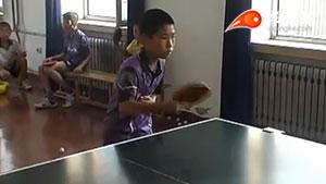 少儿的的乒乓反手练习,这样练最有效!