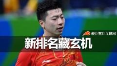 乒联世界排名有玄机!国乒三虎退赛各被罚25分