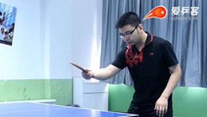 你知道反手各式拨球动作的转动有什么 区别么?